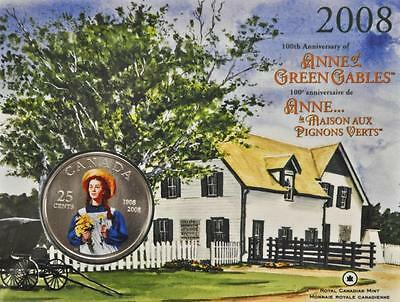 2008 Canada 25 cents - Anne of Green Gables