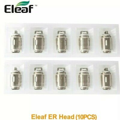 "Pack 10 Résistances ER 0.3 ohms (Eleaf)""s'adapte Melo Rt 25/Rt 22"""