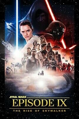 """Star Wars IX: Rise of the Skywalker g v. e  Movie Poster 24"""" x 36"""" or 27"""" x 40"""""""