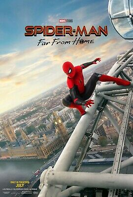 """Spiderman: Far From Home Movie Poster (24"""" x 36"""") 2 for $23"""
