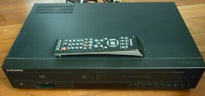 SAMSUNG DVD/VHS 6-Head Hi-Fi Stereo Combo Player Black V6800 with Remote Control