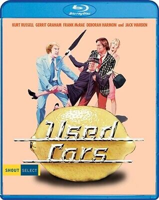 USED CARS New Sealed Blu-ray Kurt Russell