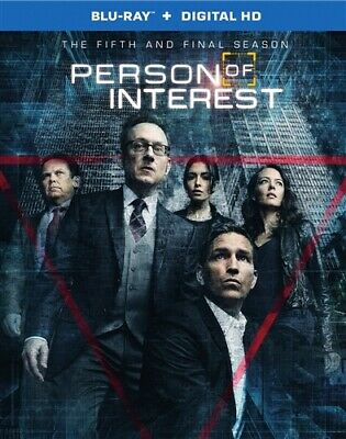 PERSON OF INTEREST THE COMPLETE FIFTH AND FINAL SEASON 5 New Sealed Blu-ray