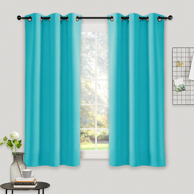 Nicetown Thermal Insulated Curtains Blackout Draperies Window