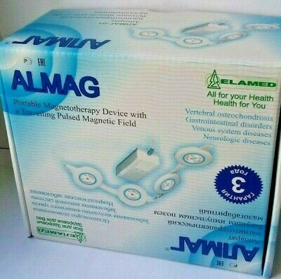 ALMAG-01 ELAMED Magnetic therapy device.3 YEARS WARRANTY.220V!!! Promotion 25.10