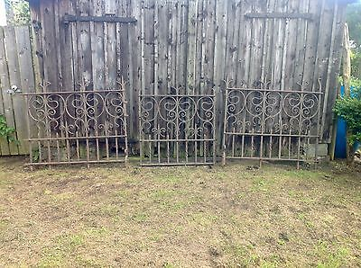 Victorian Gothic / Arts & Crafts,Blacksmith Made Hand Wrought Church Altar Gates