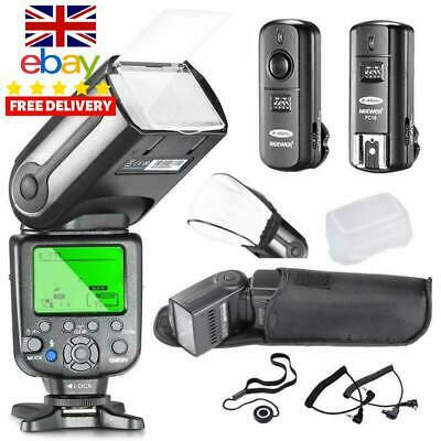 Neewer® Nw565Ex Professional E-Ttl Slave Flash Speedlite Kit For Canon Dslr Cam