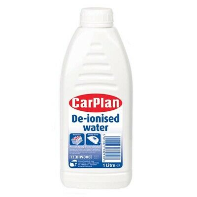 Car Plan 1 Litre De-ionised Deionised High Quality 99.99% Ultra Pure Water