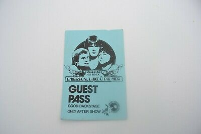 1970's EMERSON LAKE & PALMERBack Stage Pass - Concert Productions Int. NOS
