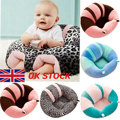 UK Cute Baby Sofa Plush Cushion Support Seat Pillow Pads Protector Sitting Chair