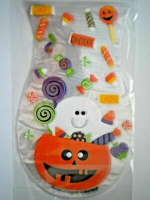 PACKAGE OF 25 SHAPED HALLOWEEN CELLO TREAT BAGS ~ You Choose