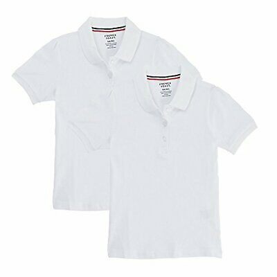 8cb0663e6 FRENCH TOAST SCHOOL Uniform Girls Short Sleeve Polo Shirt with Lace ...