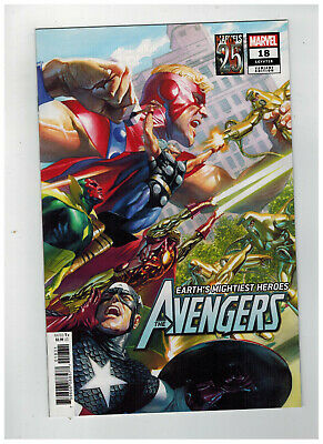 AVENGERS #18  1st Printing - Alex Ross Variant Cover        / 2019 Marvel Comics