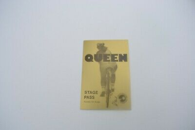 1970's QUEEN Fat Bottomed Girls  Back Stage Pass - Concert Productions Int. NOS