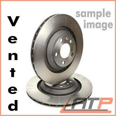 2x BRAKE DISC VENTED Ø260 FRONT VAUXHALL COMBO MK 2 II 1.3-1.8 FROM 2001
