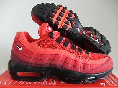 more photos fb59a d6e71 Nike Air Max 95 Og Habanero Red-White Sz 10  At2865-600