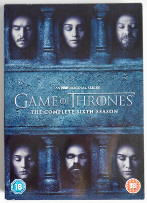 Game Of Thrones The Complete Sixth Season 5 Disc Dvd Set (Bonus Features) *Gr8**