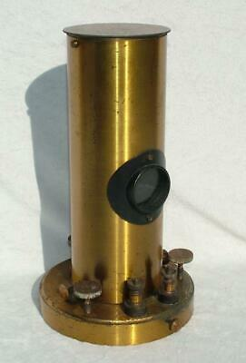 Antique Brass Galvanometer By Nadler Brothers - From Estate Sale