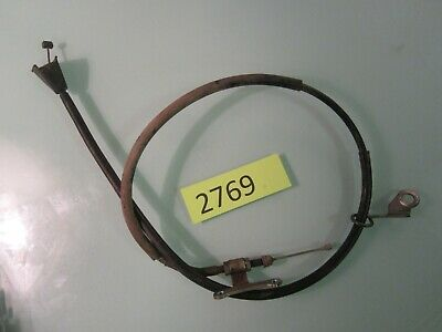 1999 HONDA XR400R    CLUTCH CABLE with bracket mount
