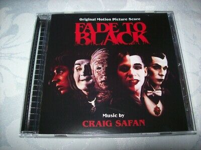 Cd - Fade To Black - Craig Safan - Promotional - Limited - 2009