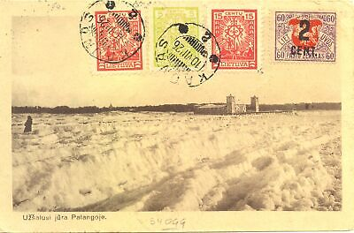 Lithuania 1926 - Ppc. To Dutch Indies -Java -Arrival Pm -Fine -F/Vf --@4