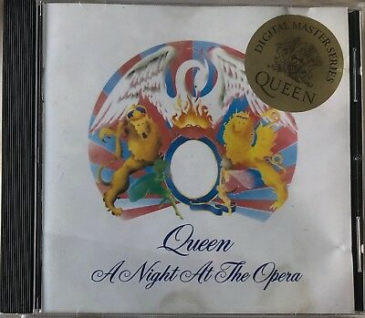 Queen - A Night At The Opera (Rare Argentina Cd)