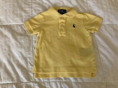 Polo by Ralph Lauren Baby Boy Shirt 9 months old SP19A