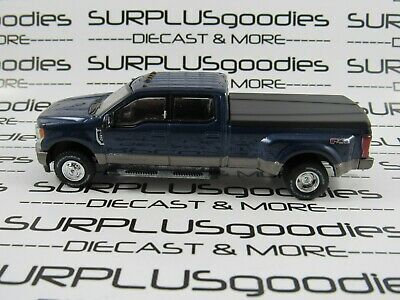 Greenlight 1:64 LOOSE Blue Jean 2018 FORD F-350 King Ranch Dually Pickup Truck