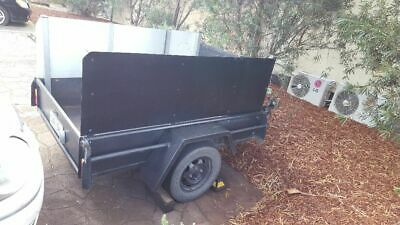 6x4 Box TRAILER (new taillights & new tyres)