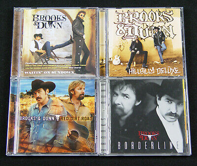 Brooks & Dunn 8 CD Lot Hillybilly Deluxe Red Dirt Road Borderline Steers Stripes