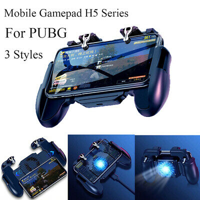 Metal Trigger Handheld Game Controller Joystick Mobile Gaming GamePad  For PUBG