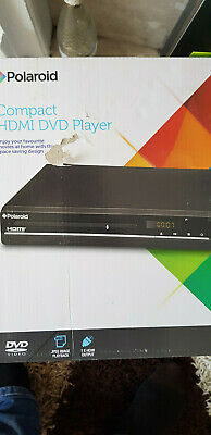Polaroid HDMI Compact DVD Player - Slimline With Remote