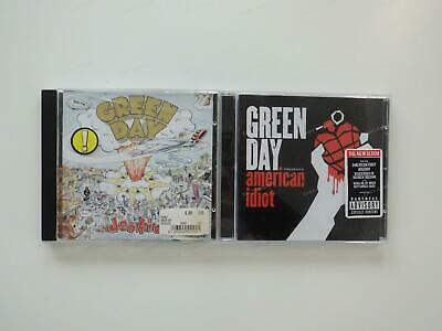 2x Green Day CD Bundle - American Idiot, Dookie .*
