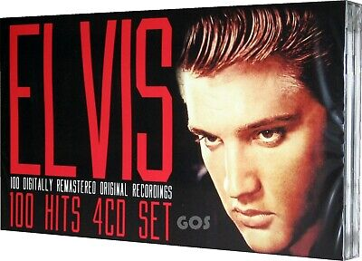 Elvis 100 Hits 4 CD Music Collection Original Recordings Greatest Tracks New