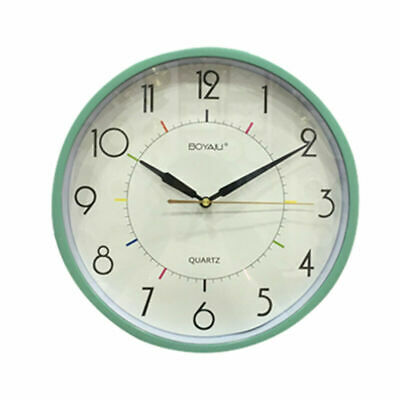 Retro Vintage Round Wall Clock Silent Electronic Quartz Clocks Kitchen Bedroom