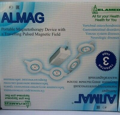 Almag 01 Portable magnetotherapy device .3 years warranty.