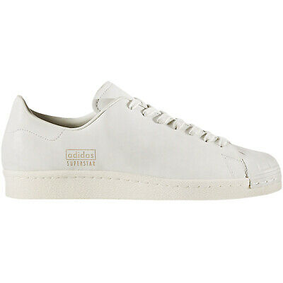 Details about Adidas Originals Superstar 80s Light Brown Leather Mens Trainers BA7767 B11B