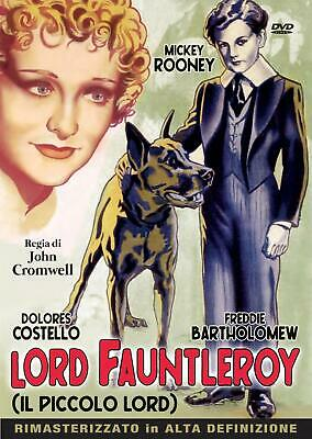 Dvd Lord Fauntleroy - Il Piccolo Lord - (1936)  ** A&R Productions ** ....NUOVO