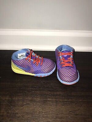 newest aab35 99854 Nike Boys Girls Child 6c Kyrie 1 Irving Lemon Frost 717223-700 Sneakers  Shoes
