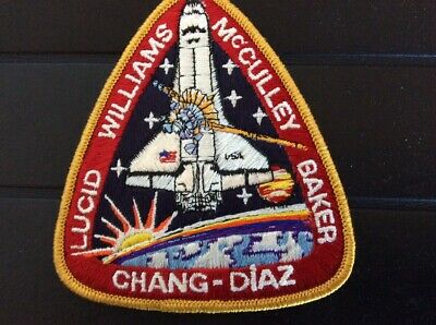 Patch NASA : Mission Colombia  avec cpt. Chang-Diaz