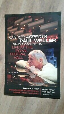 "Paul Weller - Other Aspects Promo Only Shop Poster 20"" x 30"""