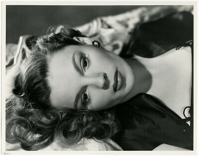 Iconic Judy Garland 1940s Vintage Large Format Virgil Apger Glamour Photograph
