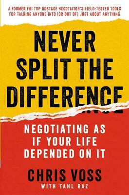 Never Split the Difference: Negotiating As If Your Life Depended on It ᑭĐᖴ audio