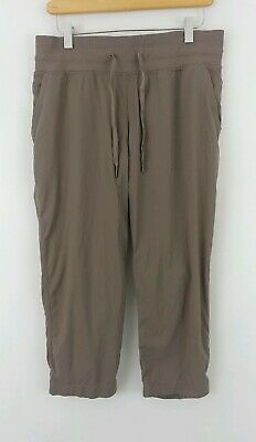 54d25cdc6f Lululemon 8 Dance Studio Crop II Athletic Plum Jogger Drawstring Free Ship  18.5