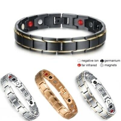 Unisex Therapeutic Energy Bracelet - Magnet Therapy Bracelet Health Care Jewelry