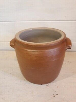 Ancien pot à graisse vernissé Poterie - Vintage French Glazed Pottery n°2