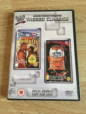 WWE/WWF Tagged Classics Royal Rumble 1997 And 1998 2 Disc Set
