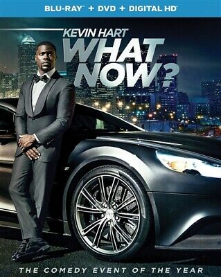 KEVIN HART WHAT NOW New Sealed Blu-ray + DVD