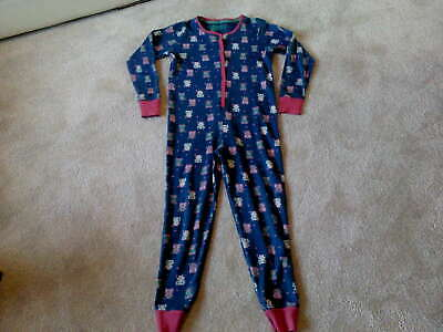 M&S Girls OWL All in One / One Piece Nightwear (9-10 Years) Very Good Condition