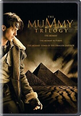 THE MUMMY TRILOGY New 3 DVD Brendan Fraser Mummy Returns Tomb of Dragon Emperor